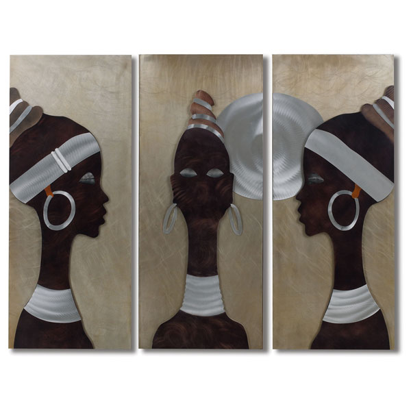 African Trio 3-Piece Wall Graphic - NL-WG42543