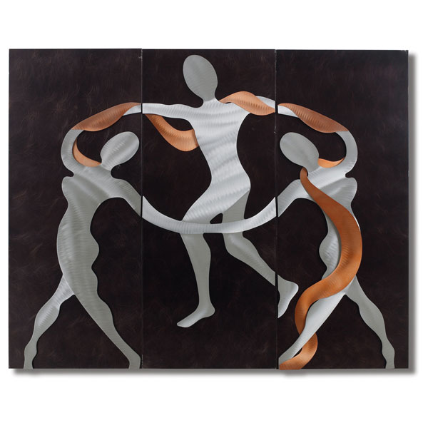 Scarf Dance 3-Piece Wall Graphic - NL-WG42544