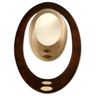 Pimento Oval Wall Mirror