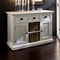 Halifax Buffet with 2 Baskets - Pure White - NSOLO-B129