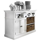 Halifax Kitchen Buffet Table - Pure White