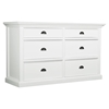 Halifax 6-Drawer Dresser - Pure White