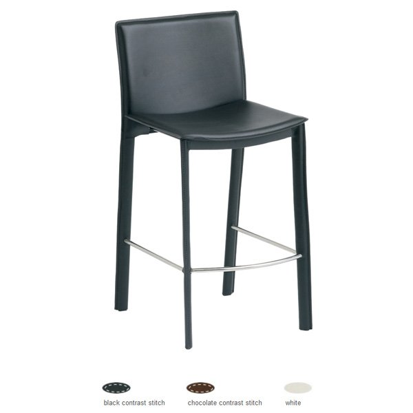 Brigitte Leather Counter Stool