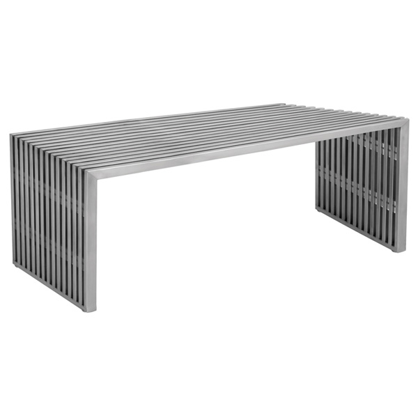 Amici Large Stainless Steel Bench