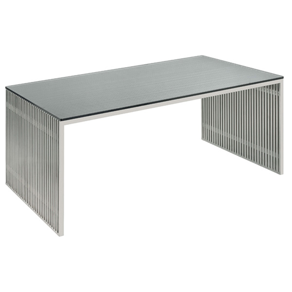 Amici Stainless Steel Dining Table