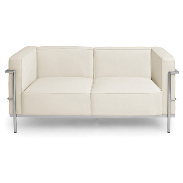 Madrid Modern Leather Loveseat - NVO-HGGA11X-SOFA