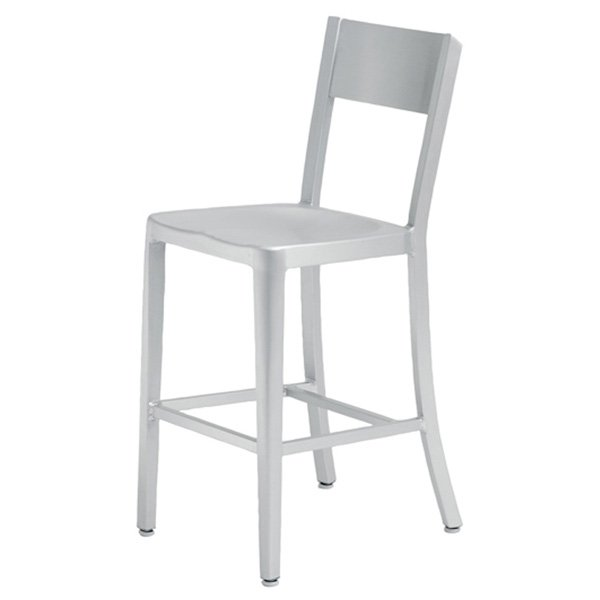 Tribecca Aluminum Counter Chair