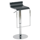 Alexander Leather Piston Stool