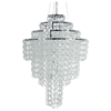 Letizia Grande Glass Chain Chandelier