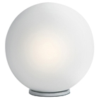 Dome White Table Lamp
