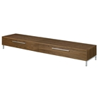 Griffith Low Profile Media Stand - Walnut
