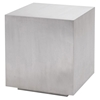 Caldo Metal Cube End Table