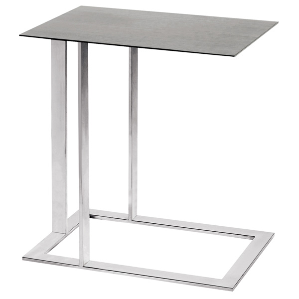 Celine Metal End Table