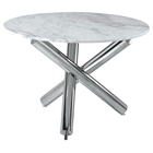 Victoria Round Marble Dining Table