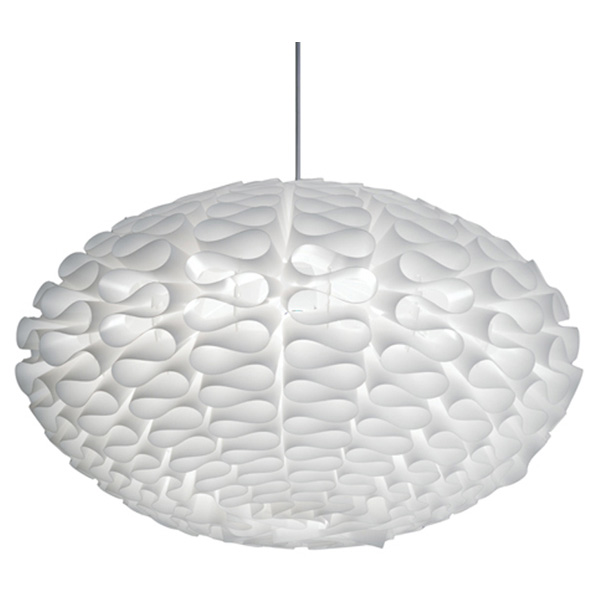 Cerebro White Hanging Chandelier