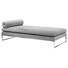 Quba Modern Daybed - Grey Fabric