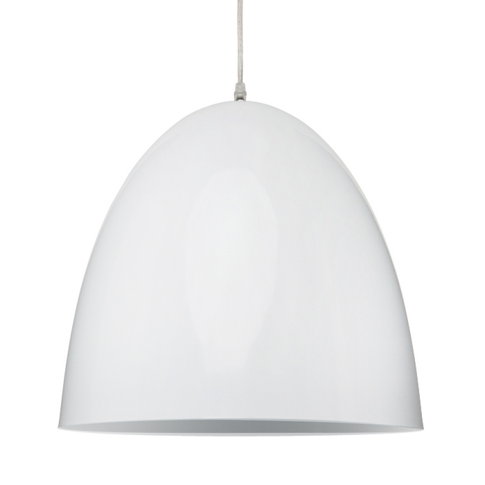 Dome Aluminum Pendant Light