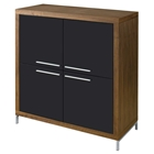 Silva Storage Hutch - Walnut