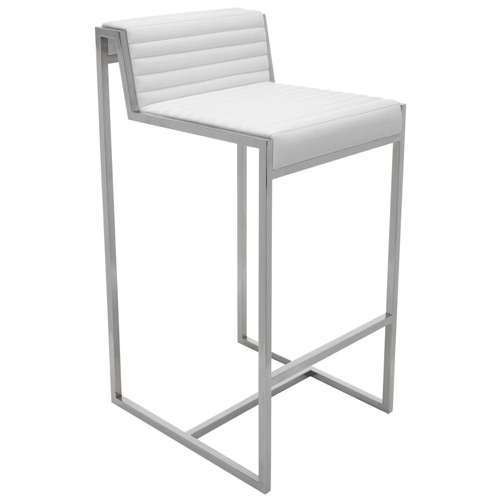 "Zola 26"" Stainless Steel Counter Stool - NVO-HGTA40X-CS"