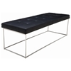 Caen Large Leather Bench