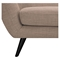 Ida Button Tufted Upholstery Armchair - Light Sand - NYEK-223303