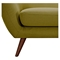 Ida Button Tufted Upholstery Loveseat- Avocado Green - NYEK-223306