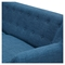 Ida Button Tufted Upholstery Loveseat- Stone Blue - NYEK-223318