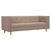 Kaja Sofa - Light Sand, Tufted