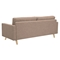 Uma Sofa - Light Sand, Button Tufted - NYEK-223343