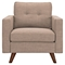 Uma Armchair - Light Sand, Button Tufted - NYEK-223344