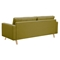 Uma Sofa - Avocado Green, Button Tufted - NYEK-223346