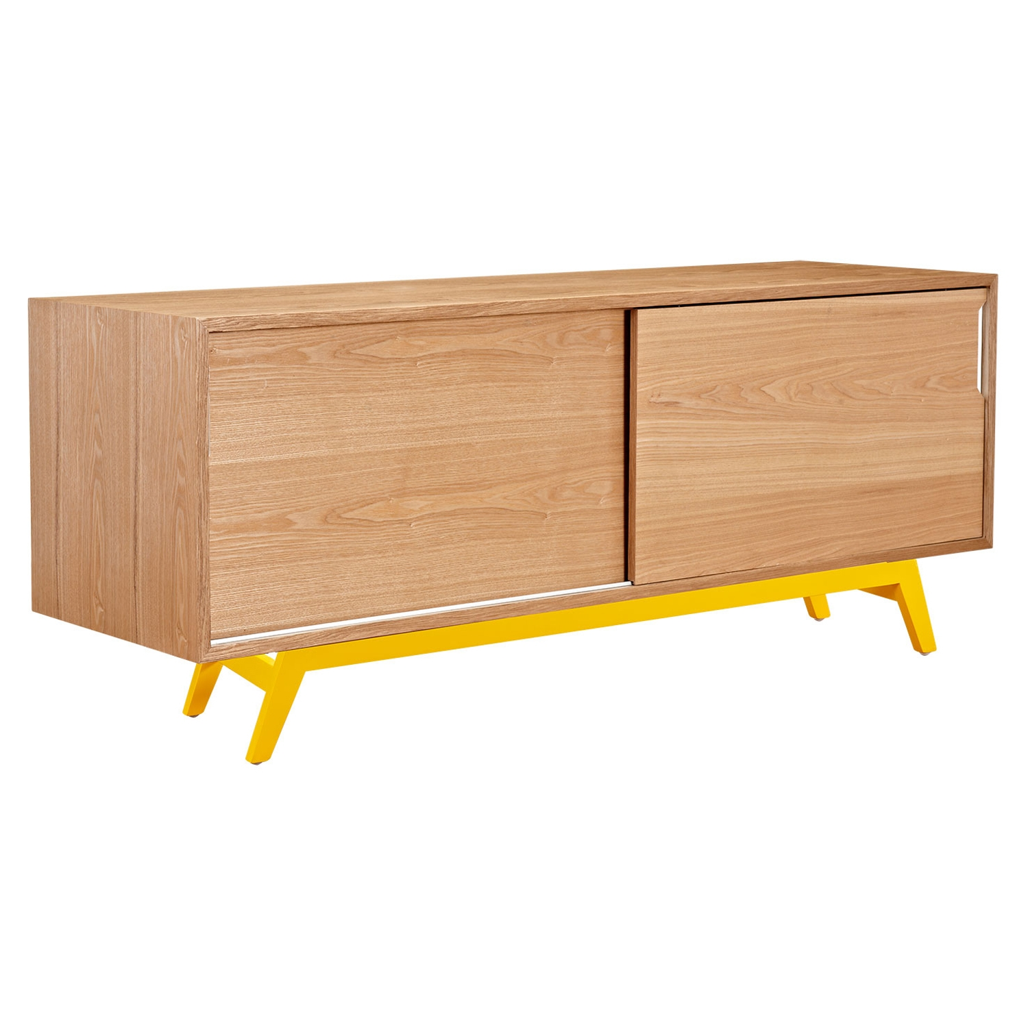 Elsa 2 Sliding Doors Sideboard - Natural - NYEK-224403