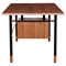 Soren Desk - Walnut and Blue - NYEK-224410-B