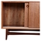Hanna Storage Unit - Walnut and Black - NYEK-224420-B
