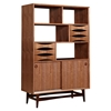 Hanna Storage Unit - Walnut and Black