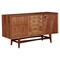 Hanna Sideboard - Walnut and Metallic Brass - NYEK-224421-D