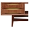 Hanna Media Unit - Walnut and Metallic Brass - NYEK-224422-D