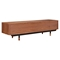 Soren Media Unit - Walnut and Red - NYEK-224428-B