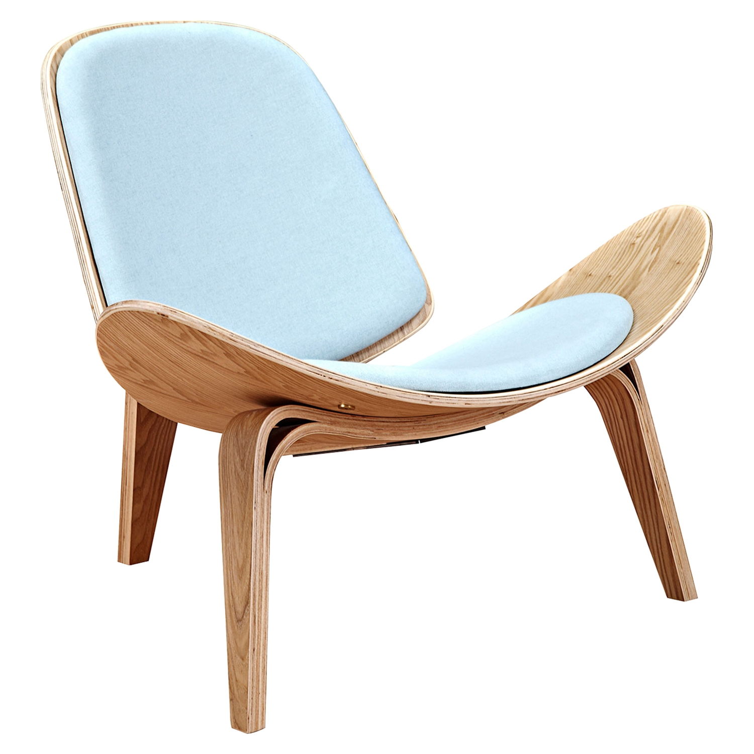 Shell Accent Chair - Glacier Blue - NYEK-224431
