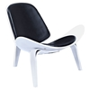 Shell Accent Chair - Milano Black