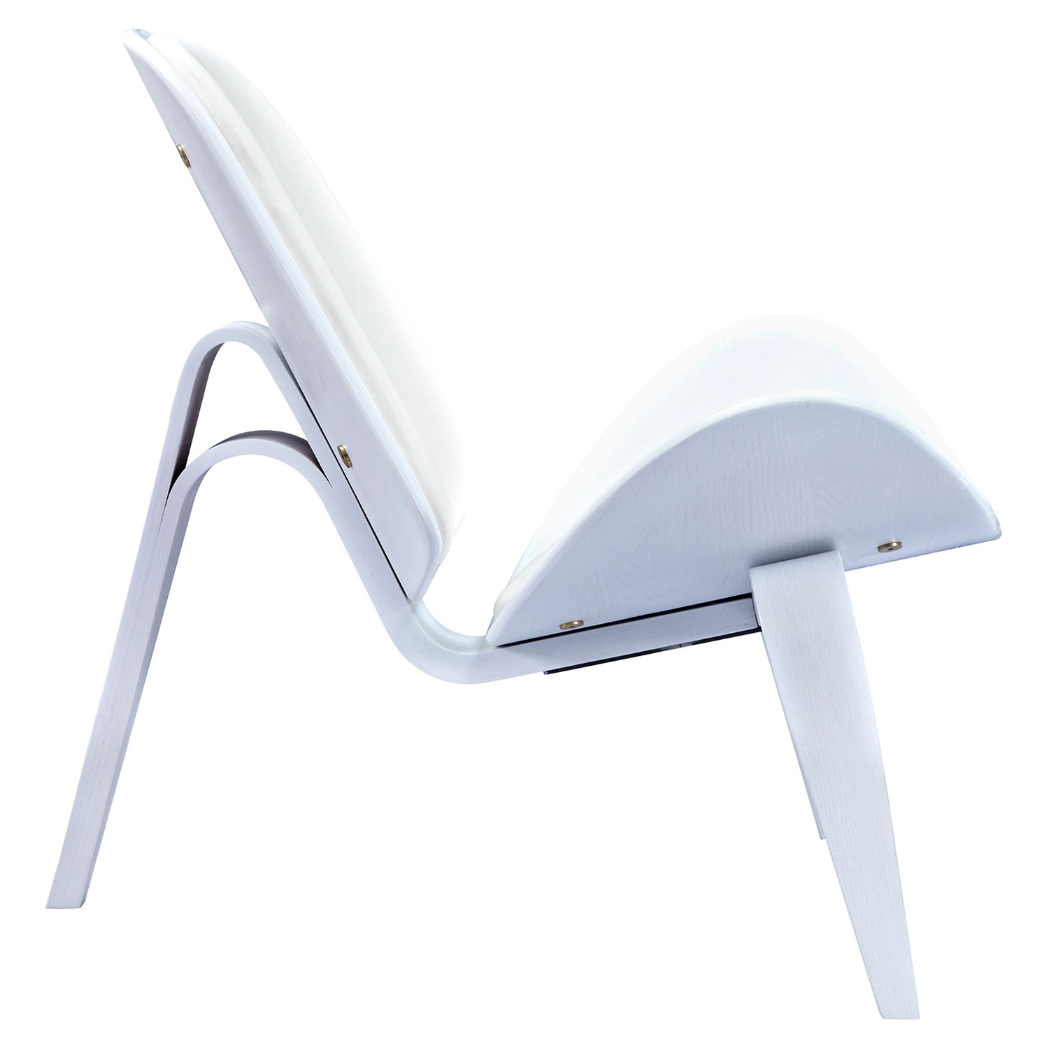 Shell Accent Chair - Milano White - NYEK-224437