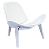 Shell Accent Chair - Milano White