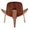 Shell Accent Chair - Weathered Whiskey - NYEK-224440