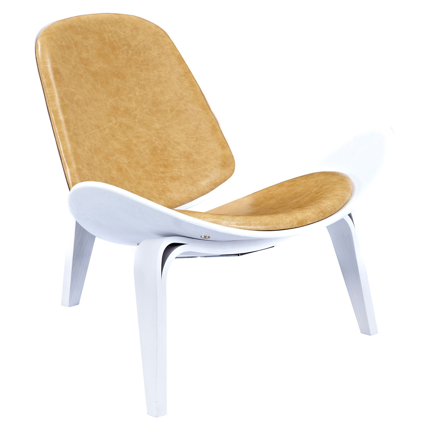 Shell Accent Chair - Aged Maple - NYEK-224443