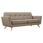 Dania Tufted Upholstery Sofa - Light Sand