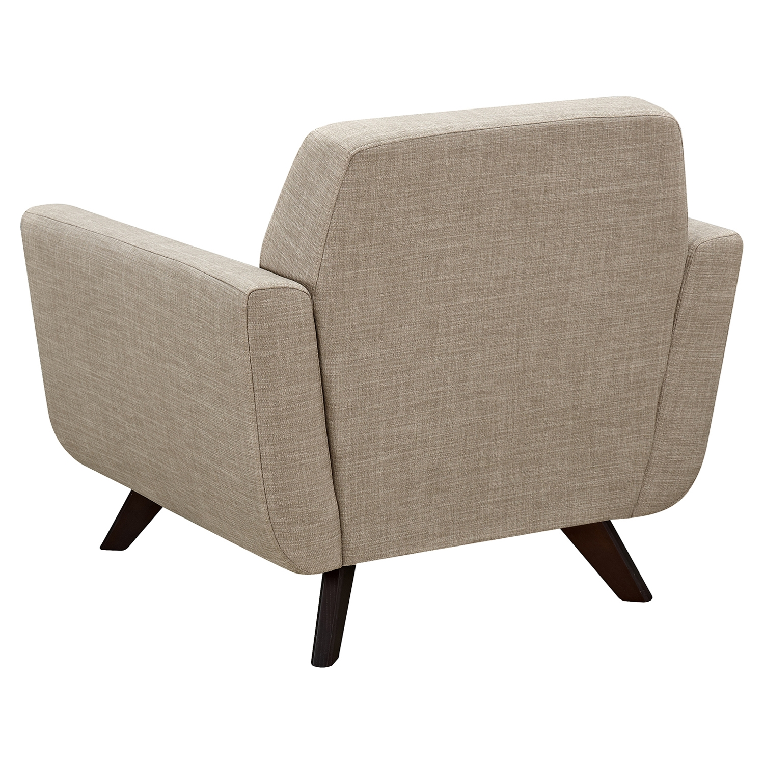 Dania Tufted Upholstery Armchair - Light Sand - NYEK-224462
