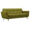 Dania Tufted Upholstery Sofa - Avocado Green