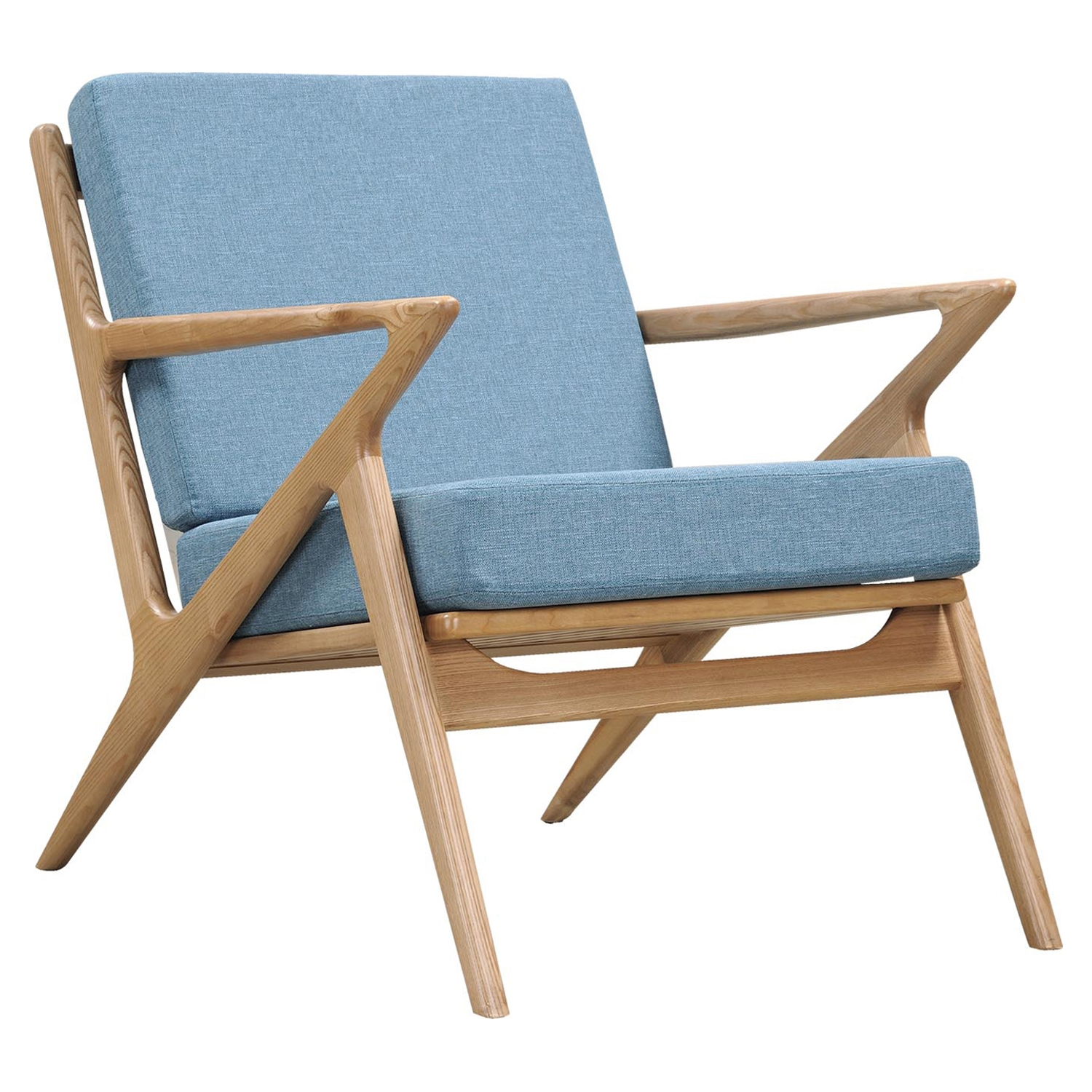 Zain Armchair - Dodger Blue