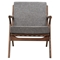 Zain Armchair - Cloud Gray - NYEK-224480
