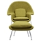 Saro Upholstered Chair - Avocado Green - NYEK-225503
